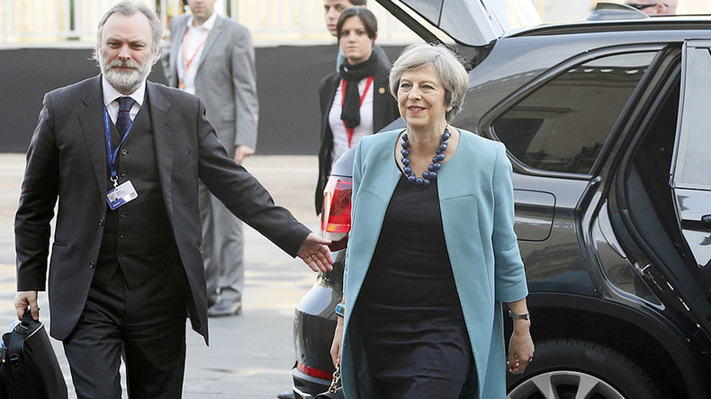 Theresa May to push EU members to up NATO spending