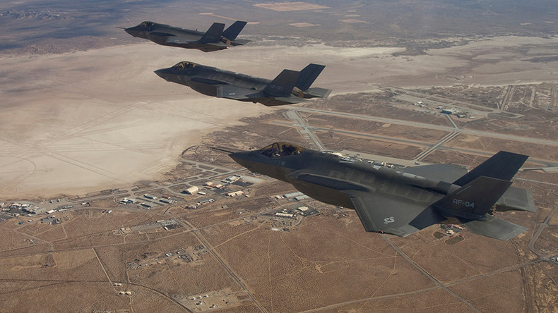 'Personal involvement': Lockheed credits Trump with lower F-35 price tag