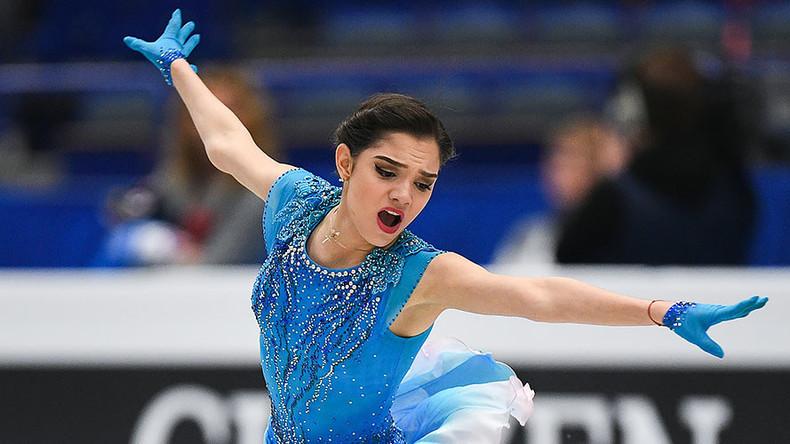 'Get up and keep going:' RT interviews European figure skating champ Evgenia Medvedeva