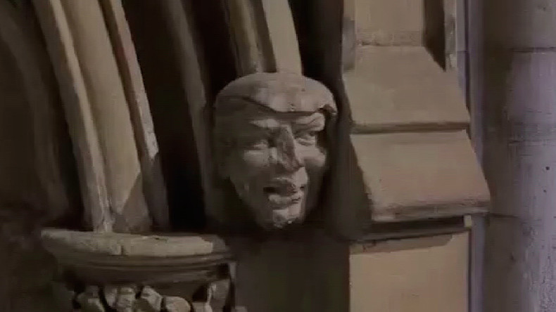 Donald's doppleganger: 700yo gargoyle bears striking resemblance to Trump (VIDEO)
