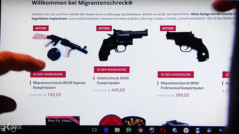 'Migrant horror' website selling illegal weapons to Germans goes offline, owner flees