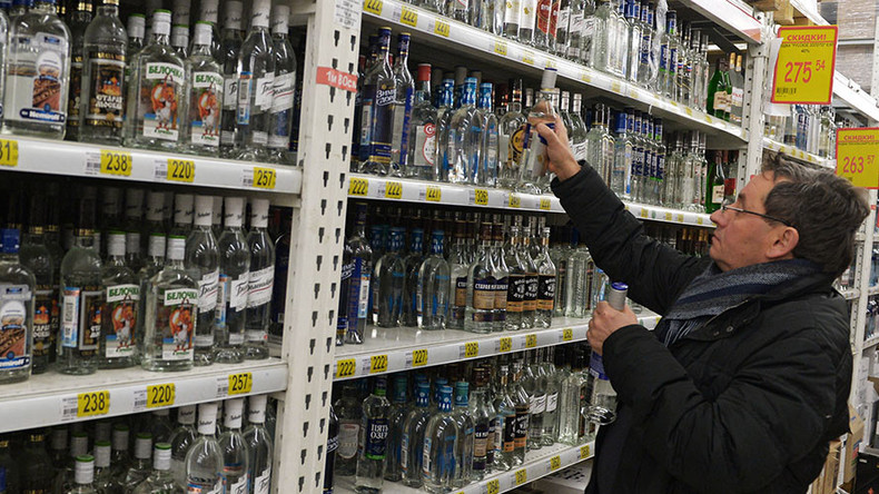Russia may ban liquor promos to tackle alcoholism