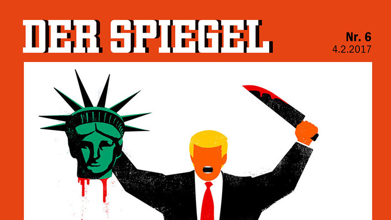 Der Spiegel editor-in-chief defends 'beheading' cover, says Germany should 'stand up against' Trump