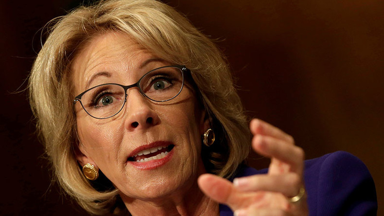 US Senate confirms DeVos as education secretary
