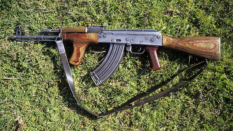 Police raids seize 800 guns, assault rifles & Kalashnikov