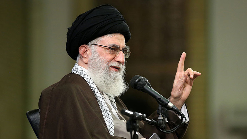 Iran's Khamenei: Trump 'shows real face of America'