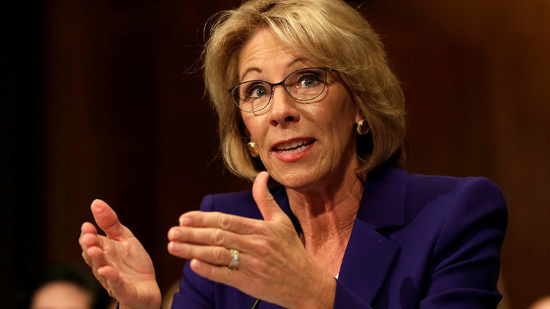 #HoldTheFloor: Democrats stage desperate 24hr filibuster against Trump Ed Sec pick DeVos