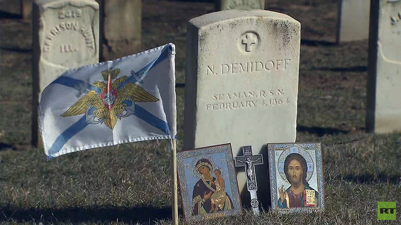 Russian sailor killed in US Civil War commemorated in Maryland