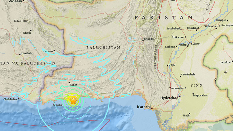 6.3 quake strikes off southern Pakistan – USGS