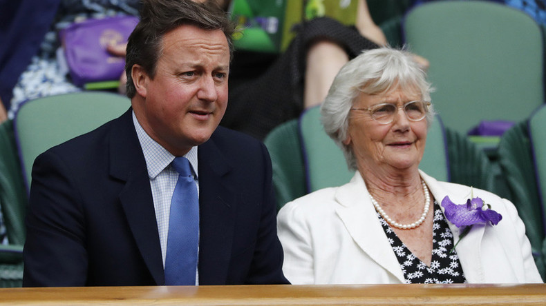 David Cameron's mum wins award... for campaigning against her son's austerity policies