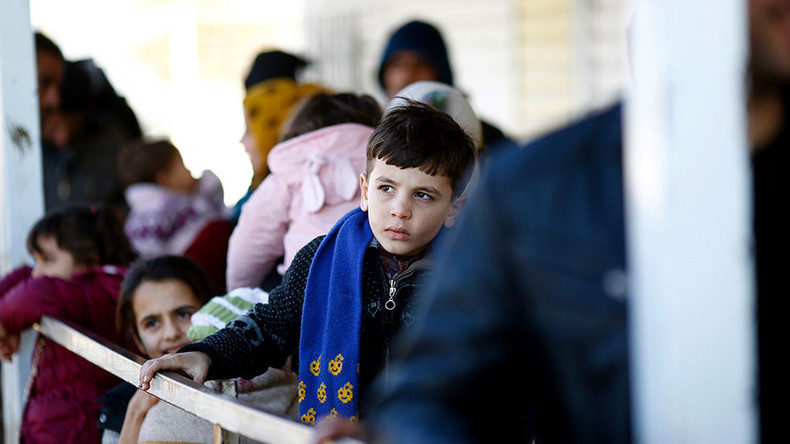 UK govt rows back on Syria child refugee pledge