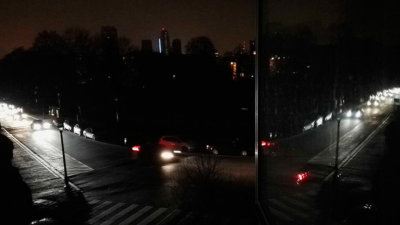 Media freaks out over Brussels blackout as part of city plunges into darkness (PHOTOS)