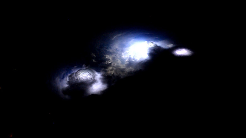 'Thor experiment' captures rare footage of electrical 'blue jets' in space (VIDEO)