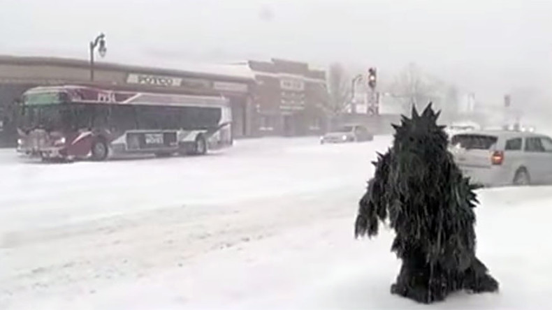 'Pot Sasquatch' appears live on air mid-blizzard (VIDEO)