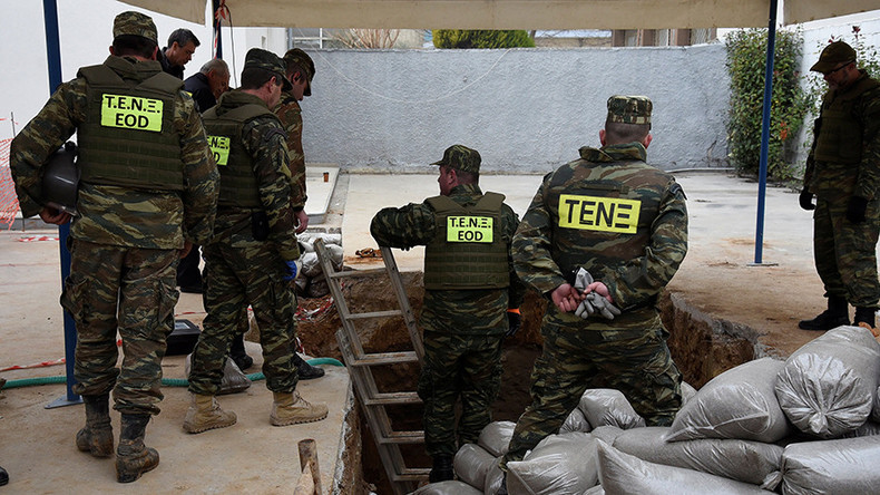 Greece evacuates over 70,000 residents for WW2 bomb disposal