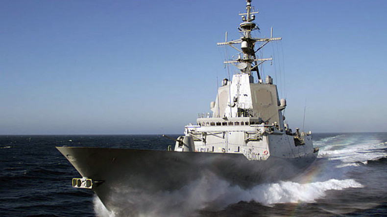 Ships from 4 NATO countries conduct naval drills in Black Sea