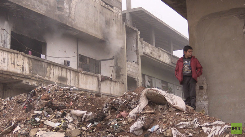 'Growing up with war': Children of Syria share heartbreaking stories of death, fear & survival