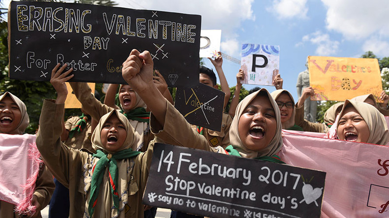 Condoms seized by Indonesian cops in Valentine's Day crackdown
