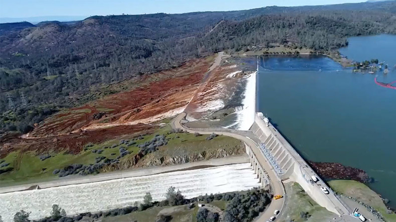 Oroville Dam: Incredible aerial footage shows magnitude of repair challenge