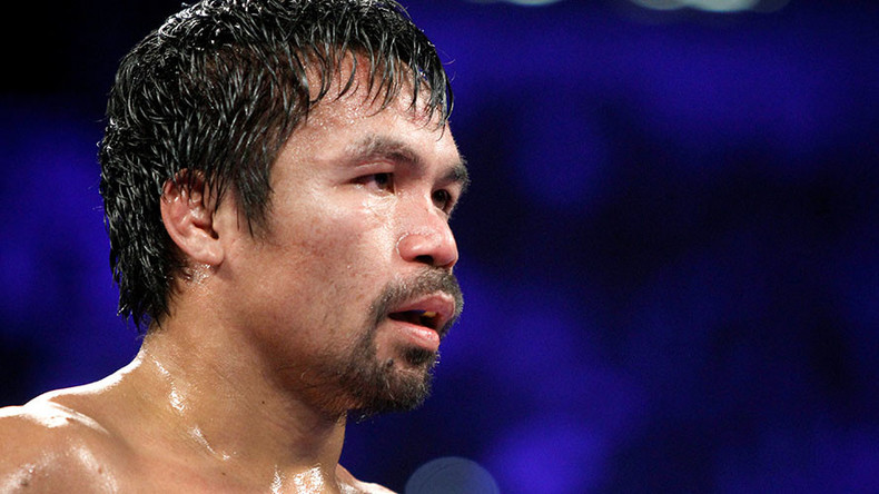 Boxer Pacquiao denounces transgender lifestyle as 'fraud' in response to US Marine murderer