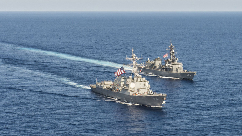 Beijing warns Washington against naval patrols in disputed S. China Sea