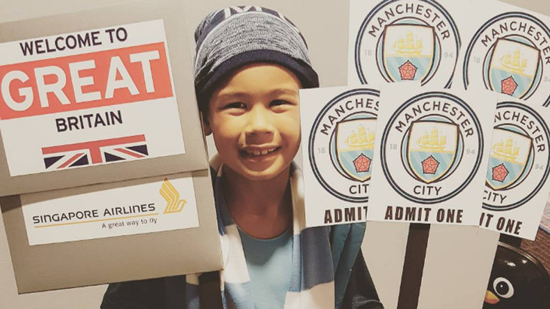 Ellen DeGeneres flies 8yo American soccer fan to watch Man City for dream birthday wish