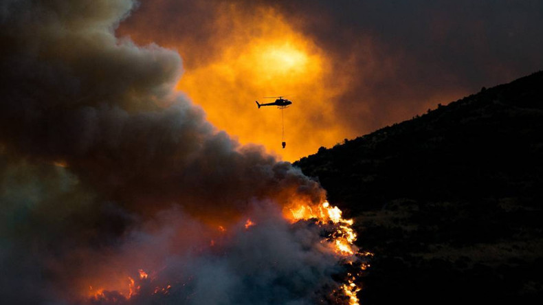 Raging New Zealand wildfires leave 1 dead, force 400 to evacuate (VIDEOS, PHOTOS)