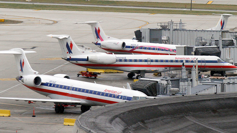 Airport runway closed after American Airlines plane hits deer