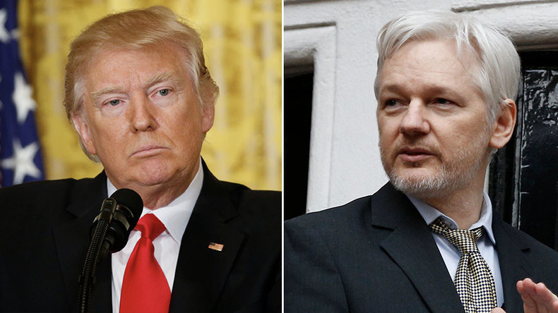 'Never apologize for publishing truth': Assange calls out Trump on anti-leak & fake news stance