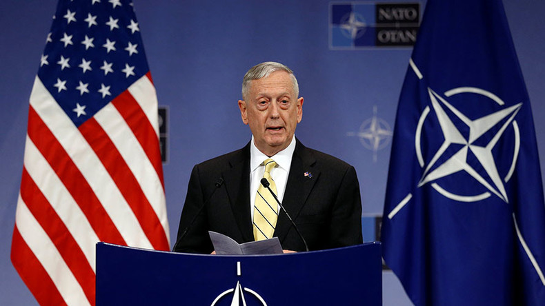 US 'not in a position right now to collaborate' with Russia militarily ‒ Pentagon chief