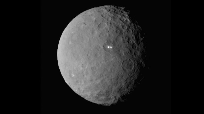 Dwarf planet Ceres could harbor life, NASA mission finds