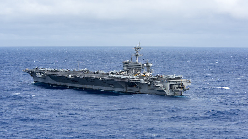 US aircraft carrier group deployed for 'routine patrols' in S. China Sea