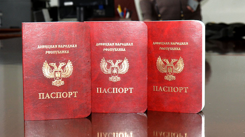 Moscow's recognition of Donetsk, Lugansk passports doesn't contradict international law – Kremlin