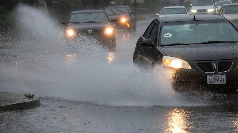 'Sky rivers' responsible for massive California rain – study