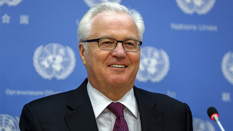 'Churkin did enormous damage to West's evil view of Russia'