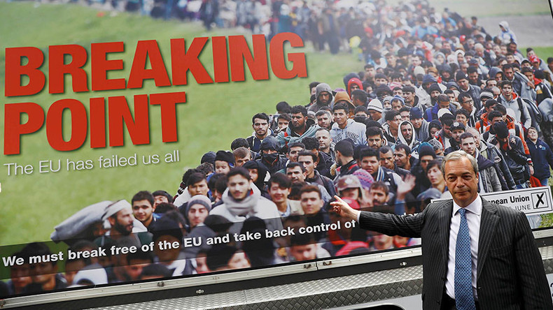 Amnesty blames 'toxic' Brexit rhetoric for sharp rise in hate crime