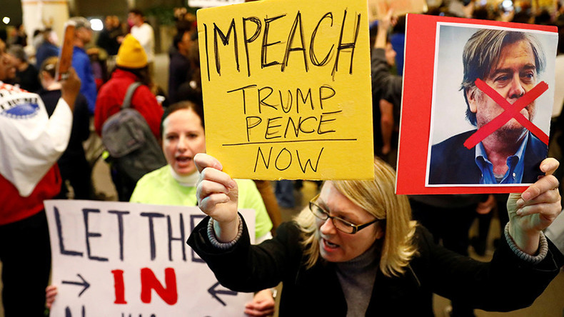 Californian city unanimously approves Trump impeachment resolution