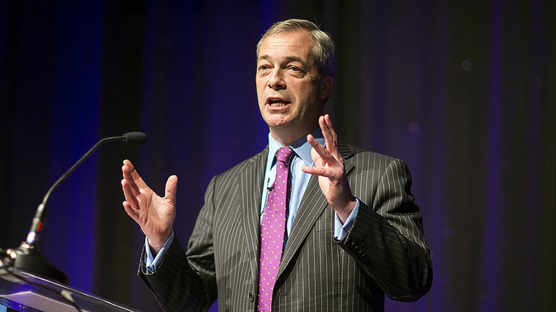 Farage slams liberal media for 'demonizing' & 'abusing' him