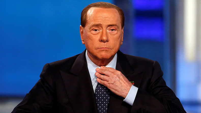 Bunga Bunga for lunch? Berlusconi puts himself on charity auction's menu (POLL)