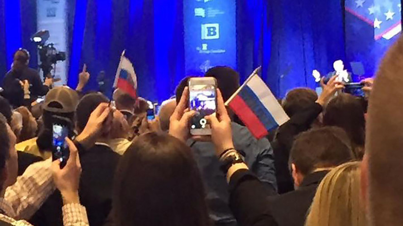 False flags: 'Russian Trump pennants' prank at CPAC causes social media meltdown
