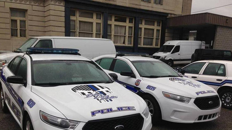 Punisher skull and 'Blue Lives Matter' decals removed from police cruisers after backlash