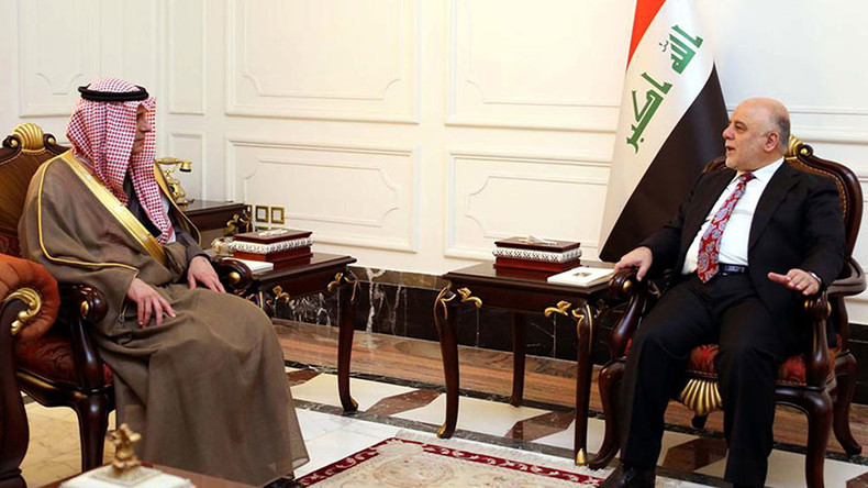 Saudi FM makes surprise visit to Baghdad