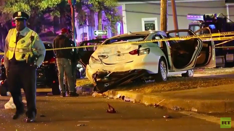 Dozens injured, 12 critically, after car plows into New Orleans parade crowd (VIDEO)