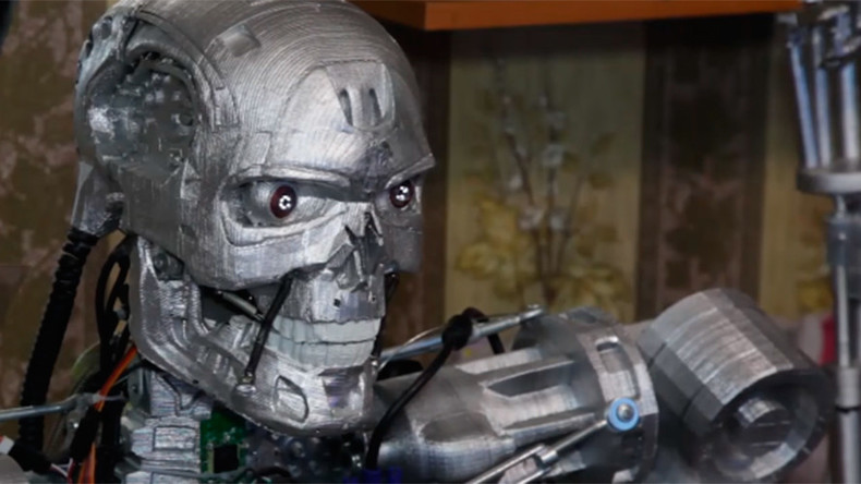 Trust me: Terminator-style cyborg created in Russia (VIDEO)