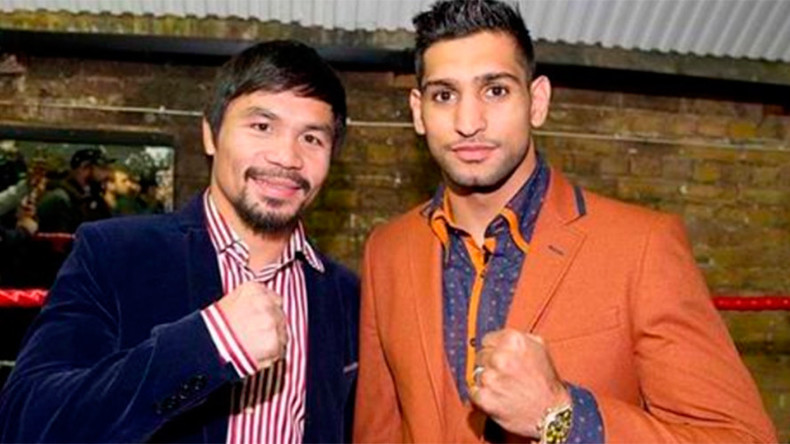 Manny Pacquiao and Amir Khan agree terms for April UAE superfight