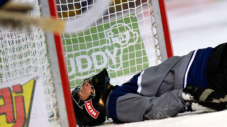 Bandy game in Russia declared void after teams score 20 own goals