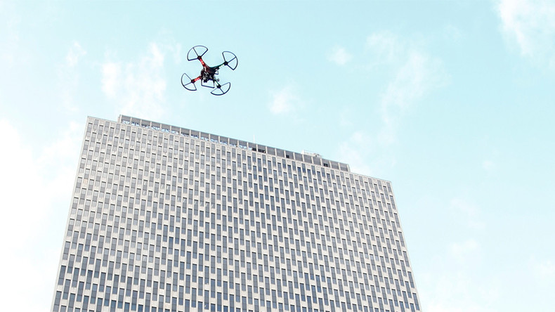 Home invasion: Drone smashes through New York apartment window