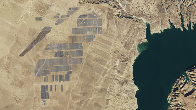 China's solar megastructure captured on camera from space (PHOTOS)