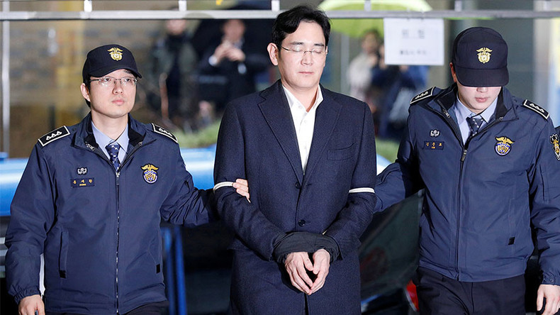 Samsung chief to be indicted on bribery & embezzlement charges