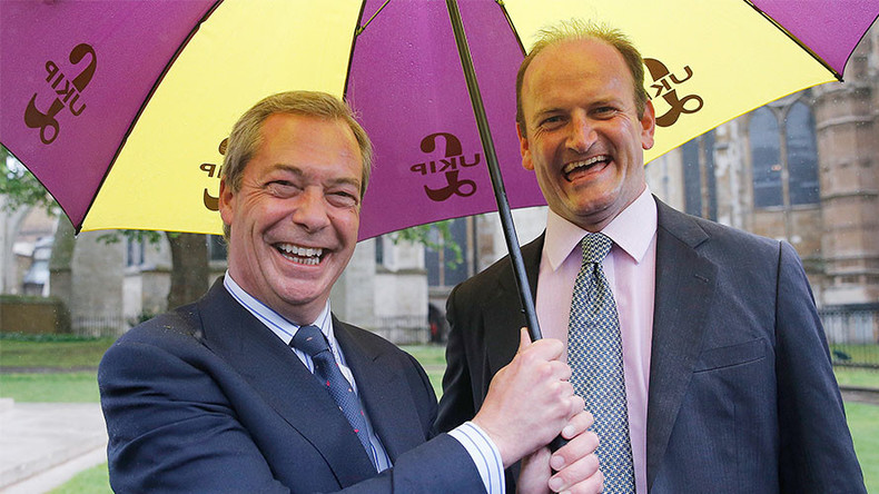 Nigel Farage wants UKIP's only MP kicked out of party for 'sabotaging his knighthood'